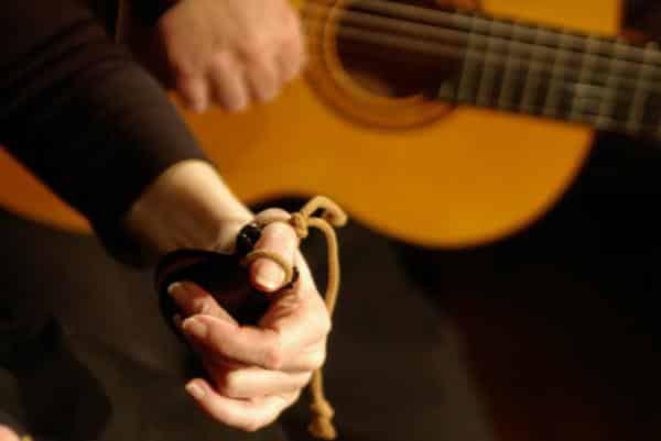 Castanet and Guitar