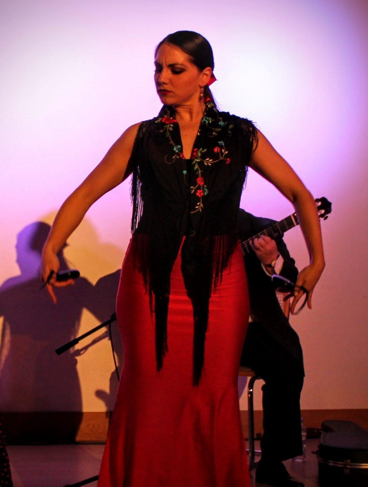 Flamenco castanet dance