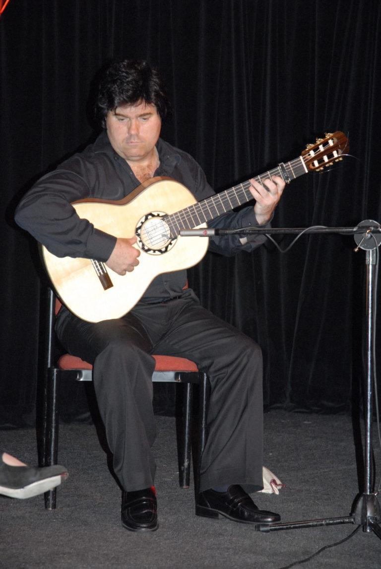 Flamenco Guitarist Performs