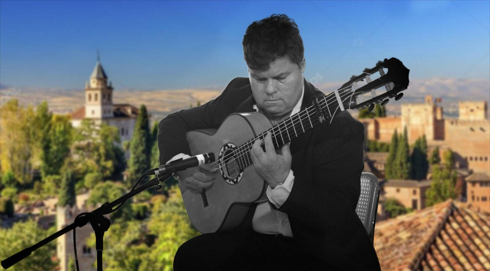 Flamenco Guitarist Tapas Event